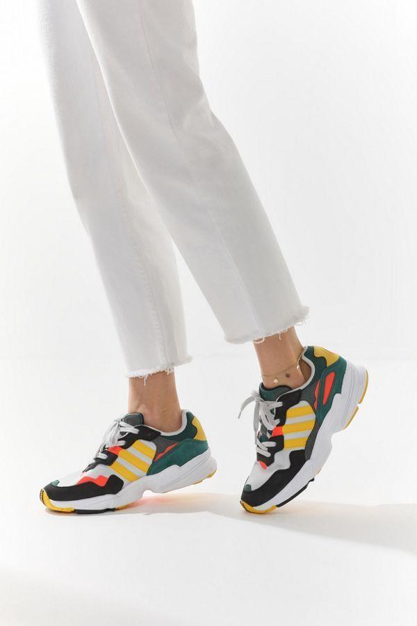 Adidas sneakers women, Yellow sneakers