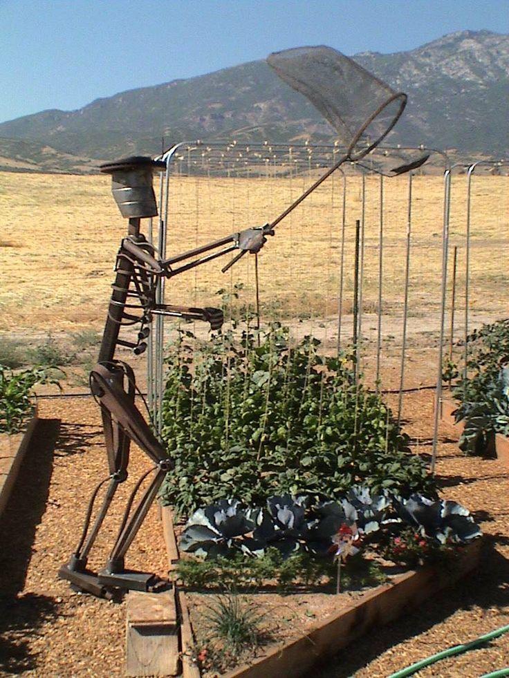 metal art projects | Miller - Welding Projects - Idea Gallery - Butterfly Catcher (Life ...