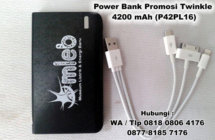 Jual Power Bank Promosi Twinkle 4200 mAh (P42PL16)