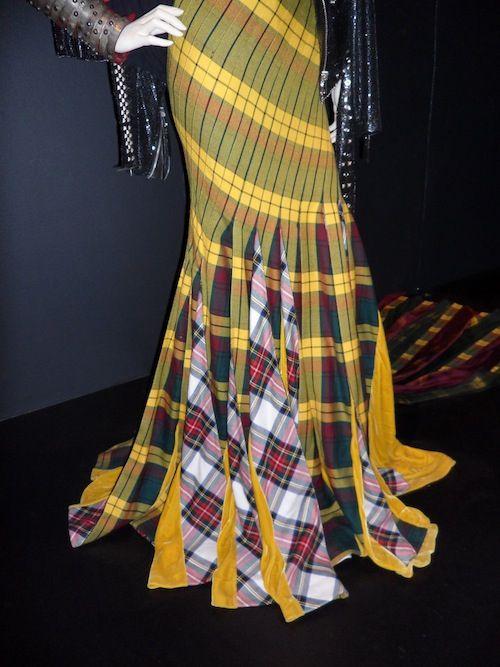 Tartan skirt by Jean Paul Gaultier