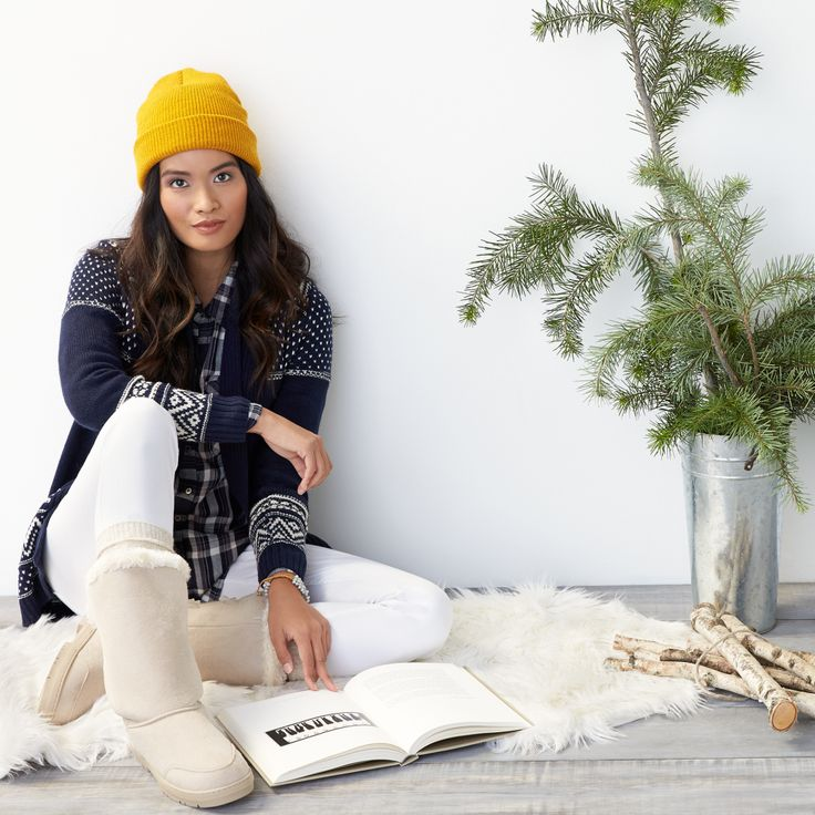 Love this!! I ski A LOT on weekends in winter and have a hard time creating cute looks like this on my own