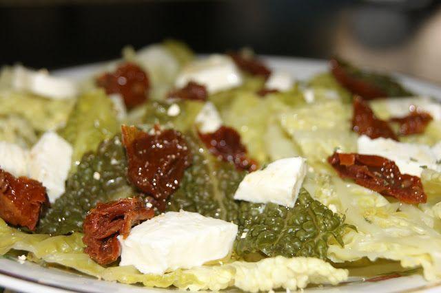 sałatka  z kapusty włoskiej