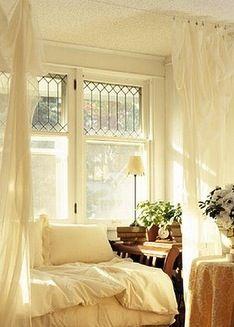 Leaded glass windows