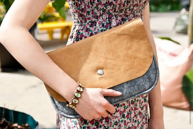 #clutch #bag by Mikoba custom bags in Shop of Form at Malta Festival 27-28 June 2013 in Poznan, Poland.