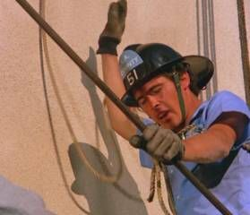 "Randolph Mantooth as John Gage.  A photo from the Episode of ""Virus."""