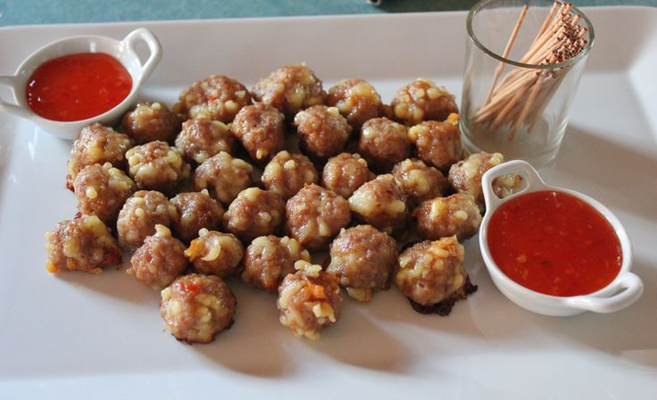 Sweet Chili Mini Meatballs | Slow Cooker Central