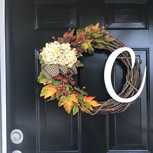 Summer Wreaths for front door, Burlap Wreath, Hoop Wreath, Wreath for Front Door, Spring Wreath, Door Decor