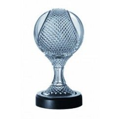 "Galway Crystal = Master Collection Sliotar 6"". €199.00."