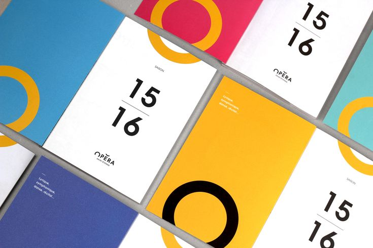 Saint Etienne Opera House - Brand design on Behance
