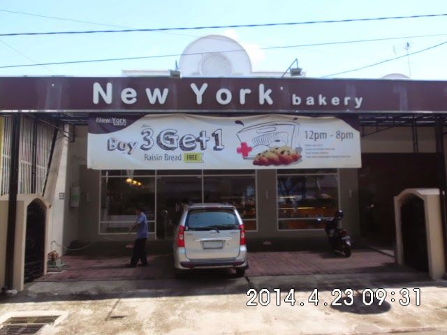 NEW YORK BAKERY AT SAWOJAJAR, MALANG