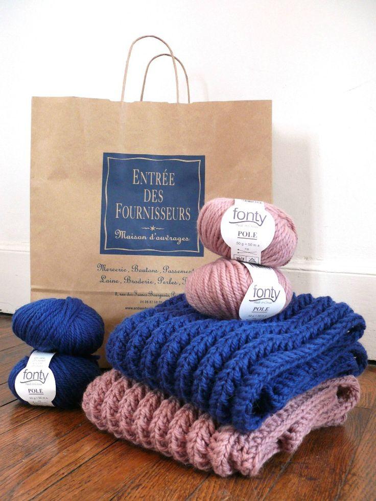 Poppy: un nouveau snood à tricoter en quelques heures pour soi ou pour tous ceux qu'on aime! C'est le pari que je vous propose avec...