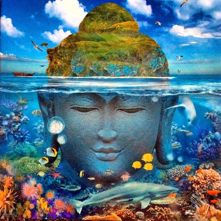 Die Reise zum Glück geht unter der Oberfläche los. Sigmund Freud sagte, dass wir uns nur zu 10% unserer selbst bewusst sind und dass die anderen 90% wie bei einem großen Eisberg unter der Oberfläche, im Verborgenen schlummern. Als ich in dieser Woche diese wunderschöne Karte wieder in den Händen hielt, die ich diesen Sommer …