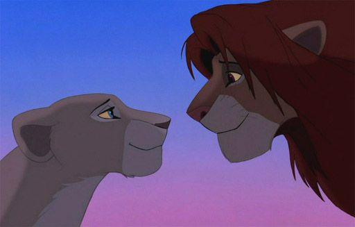 Simba and Nala are falling in love!💖 | Disney kiss