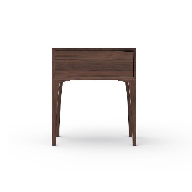Question Objects - Leaf Tall Accent Table - 1 Drawer