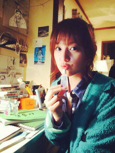 Kim ji won 김지원 update me2day for her role in gap dong drama