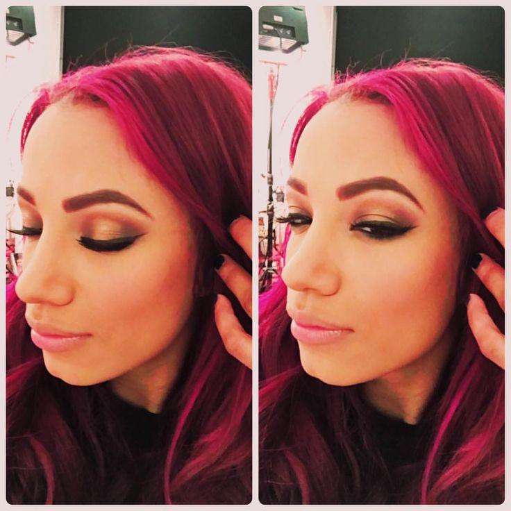 sashabankswwe:  Face by @mrs_lindysue @wwemakeupdivas Tags: #SashaBanks #LegitBoss #WWE #NXT #WomensWrestling #WWEDivas #Wrestling