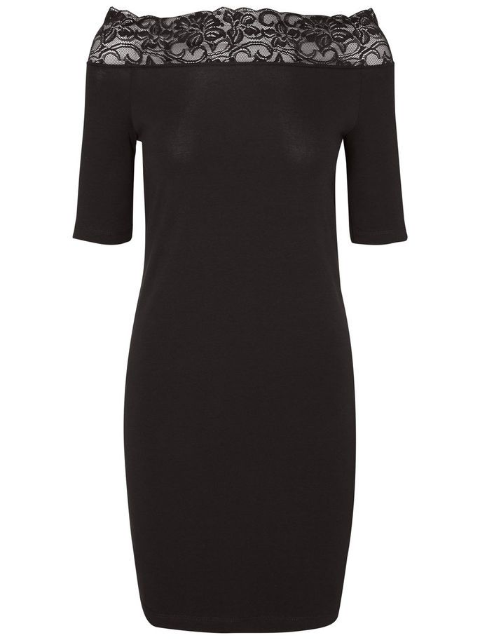 Off shoulder dress from Noisy may. Perfect party outfit.