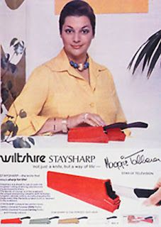 Another retro Wiltshire advertisement featuring Maggie Tabberer! Timeless.