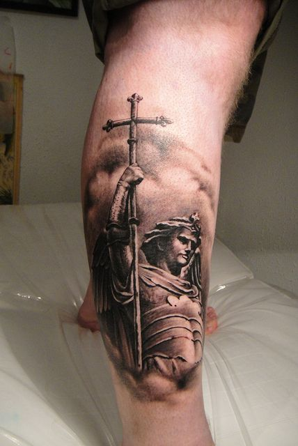 100 29 religious saint christopher tattoos 30 perfect st michael tattoo design ideas. Black Bedroom Furniture Sets. Home Design Ideas