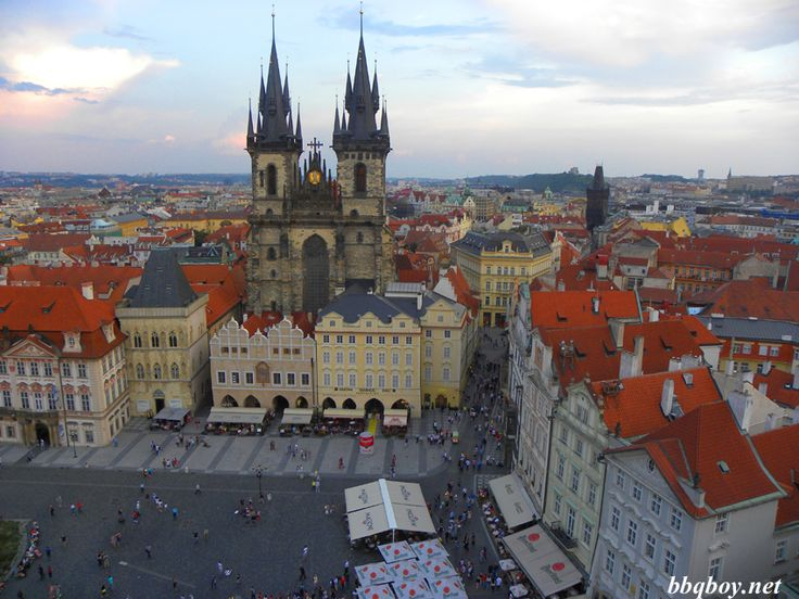 The Best Towers in Prague