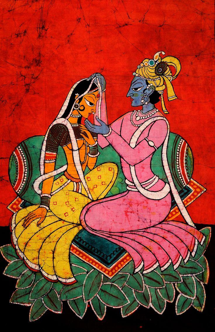 Radha Krishna (Kishangarh Style)