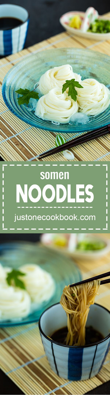 Somen Noodles (そうめん) | Easy Japanese Recipes at JustOneCookbook.com