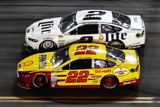 Penske Racing w 'Bad Brad' Keselowski&Joey Logano *FORD'S NEW SUPER TEAM IN NASCAR