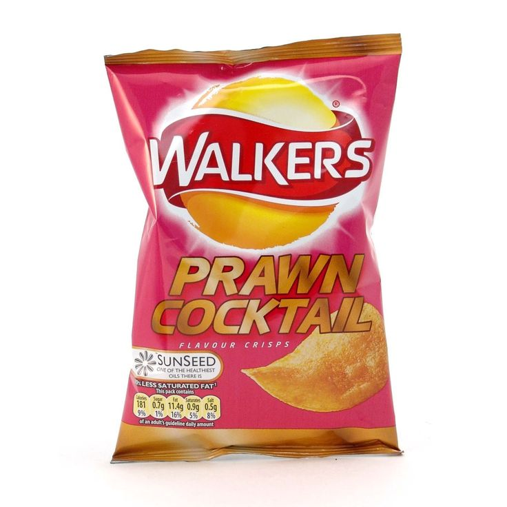 Walkers' Prawn Cocktail Crisps - 1.12 oz (32g)