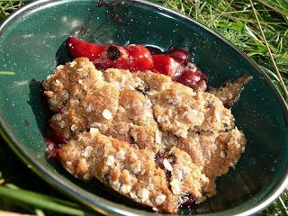 toll house cookie cobbler....Everyday Dutch Oven: Camping Vittles