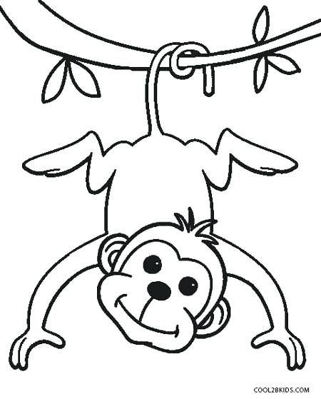 Free Printable Monkey Coloring Pages For Kids Monkey Coloring Page Monkey Coloring Pictures To Print Monkey Coloring Pages Zoo Coloring Pages Coloring Pages