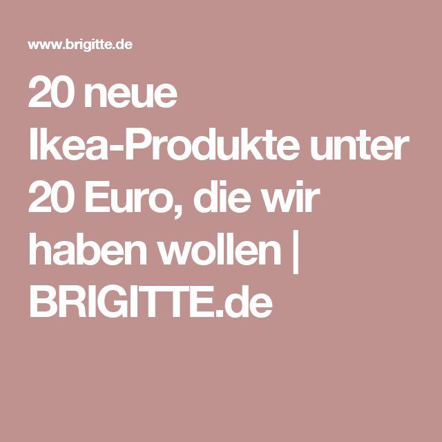 Amazing  neue Ikea Produkte unter Euro die wir haben wollen BRIGITTE