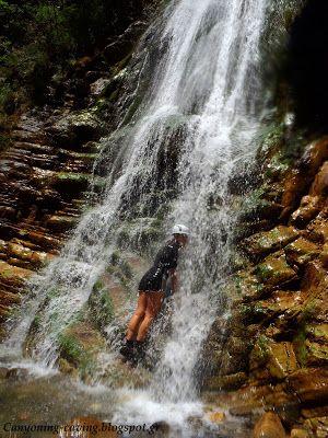 waterfall at Krikelopotamos river, Greece