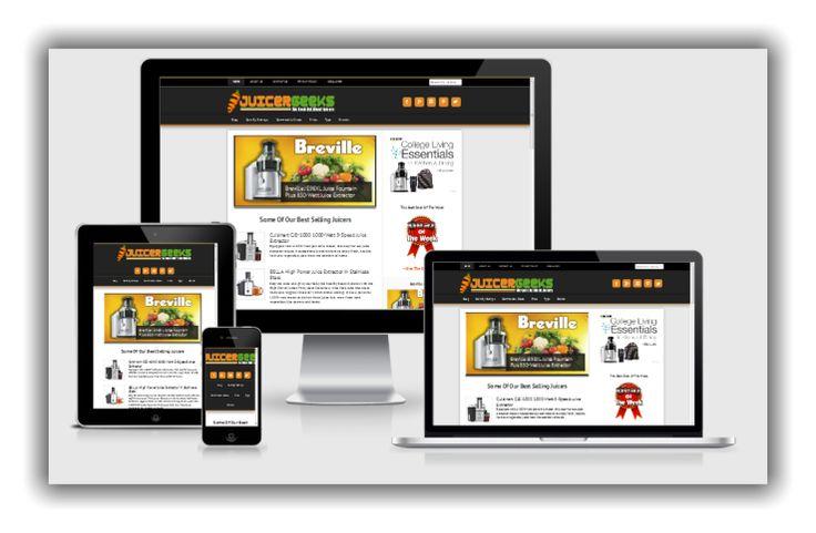 Juicer Website for sale
