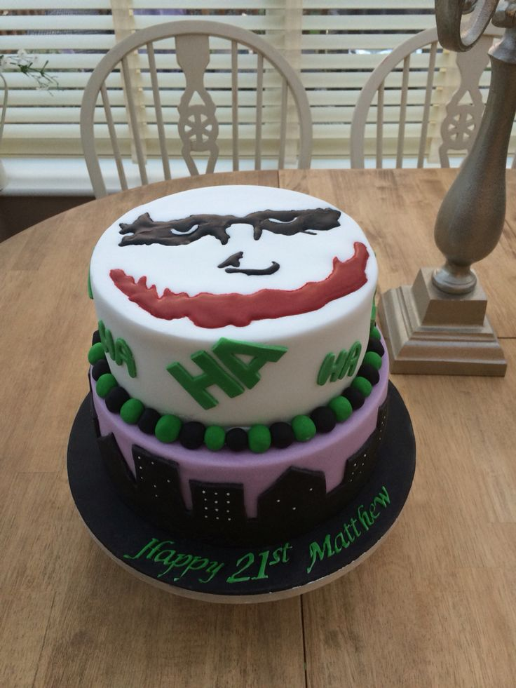 The Joker cake mk2!