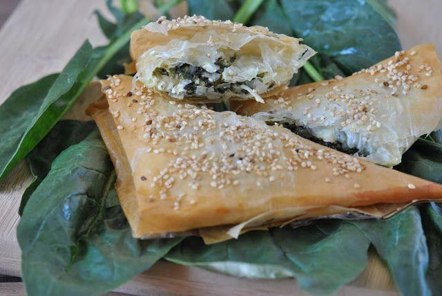 Pão e Beldroegas: Spanakopitas para a Festa da Maria.