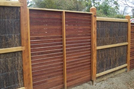 alternate brushwood with exotic timber for added interest ~Visual Luxury