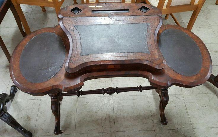 Victorian Tilt Top Writing Desk