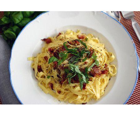 Pasta carbonara - kolarhustruns recept