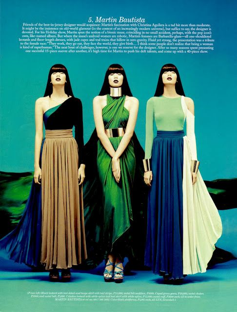 versatility.: Fashion Style, Bautista Gowns, Fashion Design, Magazines August, Editorial Art, Fashion Inspiration, Filipino Fashion, Preview Magazines, Fashion Save