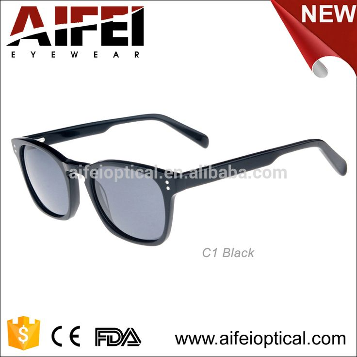 Environmentally friendly material Cellulose acetate sun CR-39 or polarized lenses