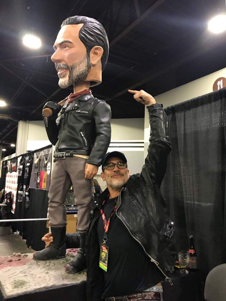 Royal Bobbles The Walking Dead Negan Collectible Bobblehead Figure