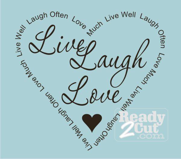 Live Laugh Love Border | ... / Quotes & Phrases ...