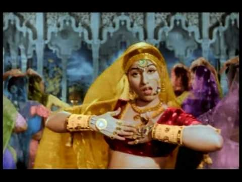 legendary actress Madhubala's dance(Mujra) on the song of legendary Lata mangeshkar. Mujra is a form of dance originated by tawaif (courtesans) during the Mughal era which incorporated elements of the native classical Kathak dance onto music such as thumris and ghazals or poems of those from other Mughal cultures...