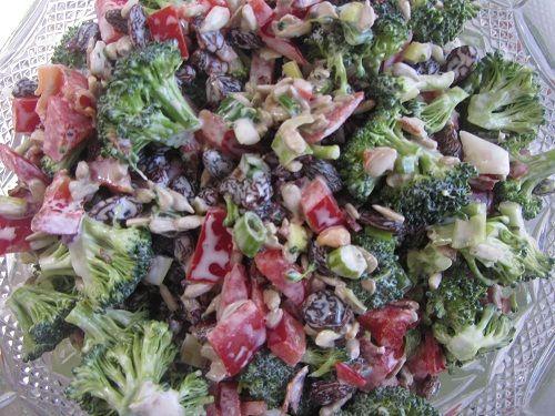 Healthy Thanksgiving Party ~ Broccoli Salad Recipe