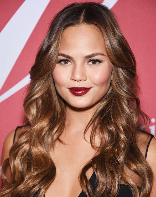 Image result for public domain subtle hair highlights 2017 chrissy teigen