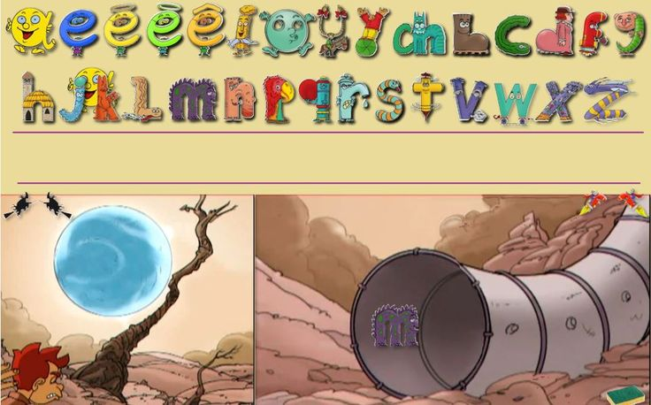 Le jeu du tunnel / Les formules magiques des Alphas - Le petit cartable de Sanleane