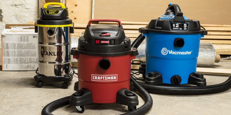 From flooded basements to messy garages, there's no better solution than a wet/dry vacuum.