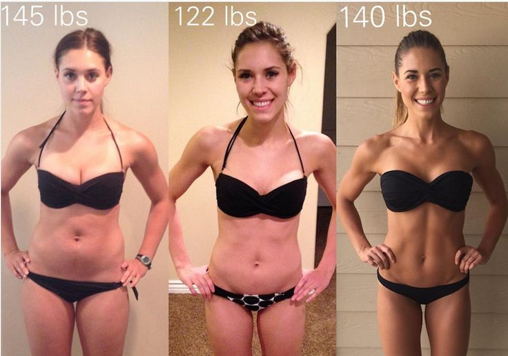 This Fitness Blogger's Before-And-After Pic Shuts Down A Major Misconception About Weight