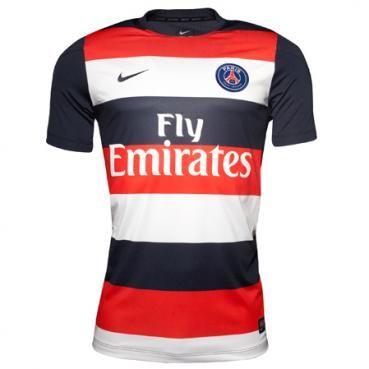Maillot PSG Pre-match Nouveaux 2013/2014 Nike http://www.fff-pascher.com/maillot-paris-psg-c-61_85.html