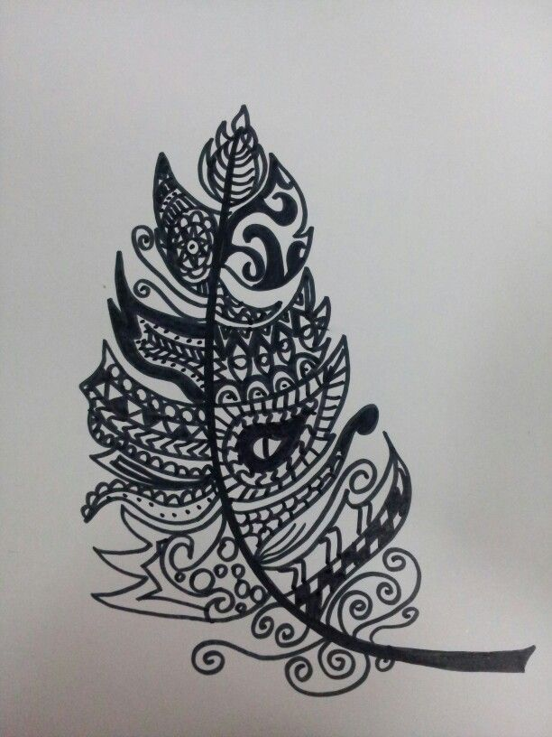 Zentangle black&white